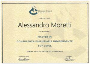 Master in Consulenza Finanziaria Indipendente
